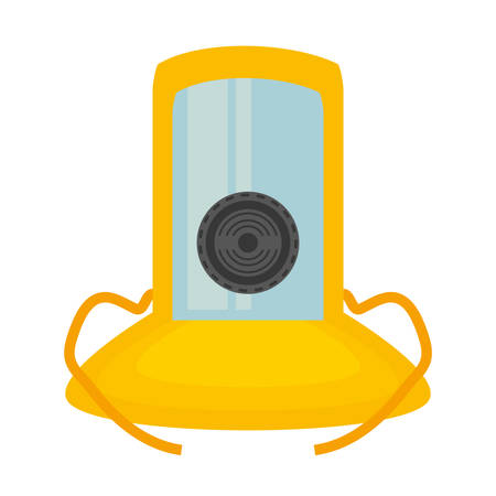 gas mask suit cover safety vector illustration eps 10