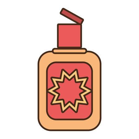cream sun blocker beach icon vector illustration eps 10 Illustration