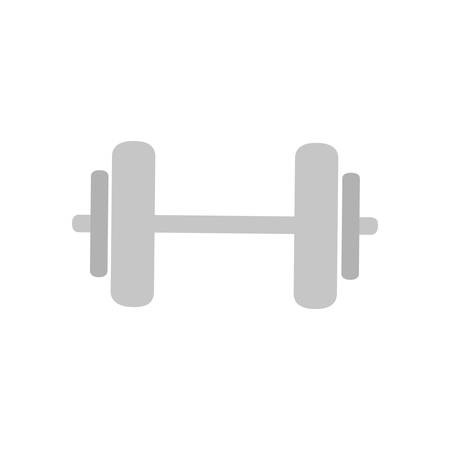 accesory: weight lifting gym accesory icon vector illustration design