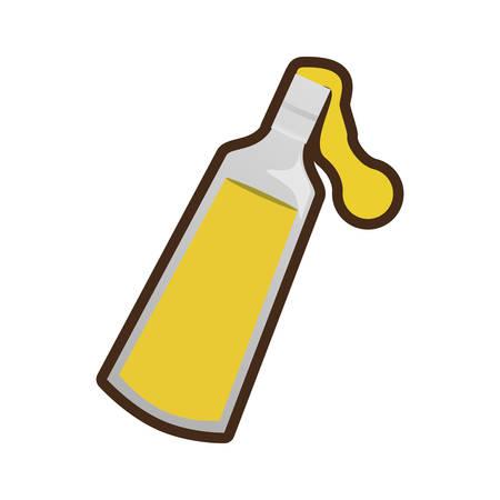 olive oil bottle jug pitcher icon vector illustration eps 10