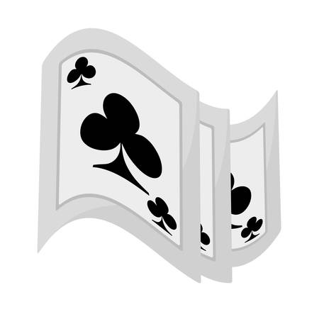pocker magic trick show vector illustration eps 10 Illustration
