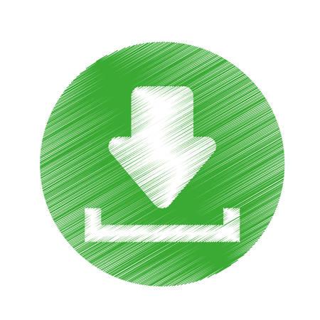 Download web symbol icon vector illustration graphic design icon vector illustration graphic design