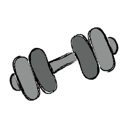 Gym iron weigth icon vector illustration graphic design