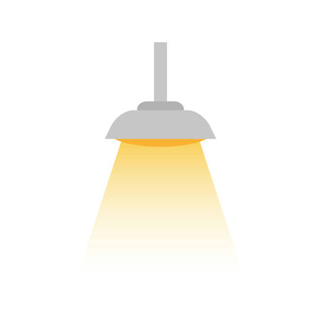 Isolated light lamp icon vector illustration graphic design