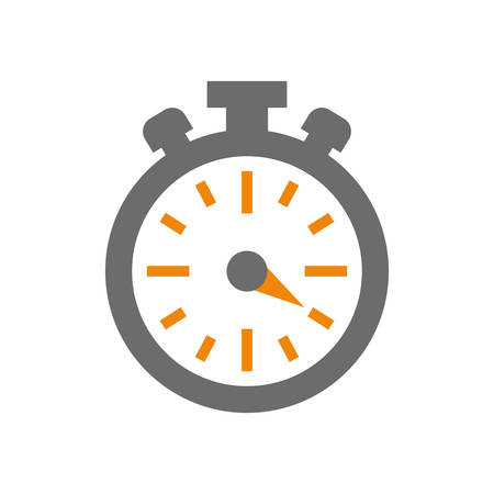 classic timer stopwatch icon vector illustration graphic design