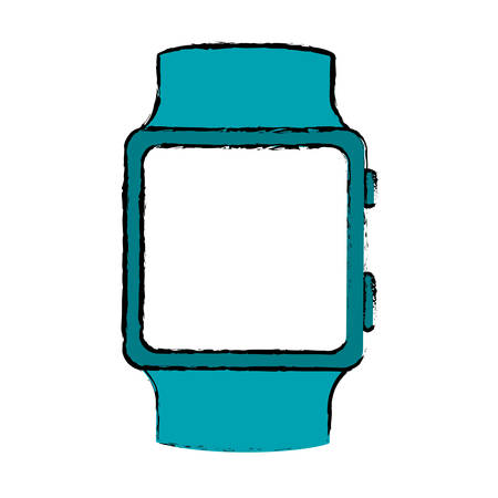 accesory: smartwatch digital accesory icon image vector illustration design