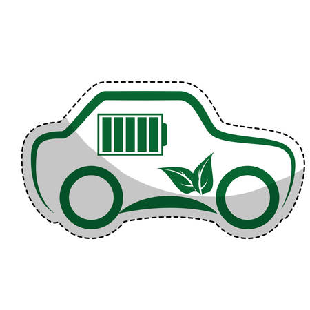 eco friendly car icon image vector illustration design Illustration