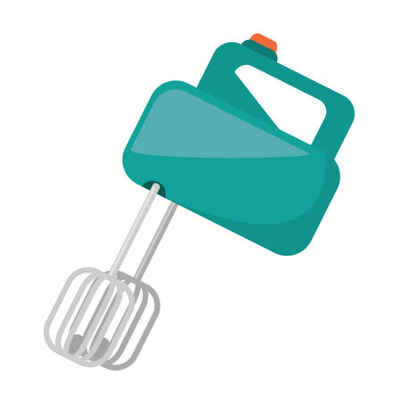 electric mixer cooking kitchen appliance vector illustration eps 10