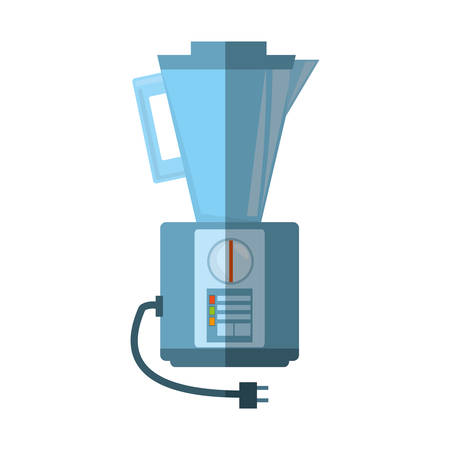 blender kitchen appliance shadow vector illustration eps 10