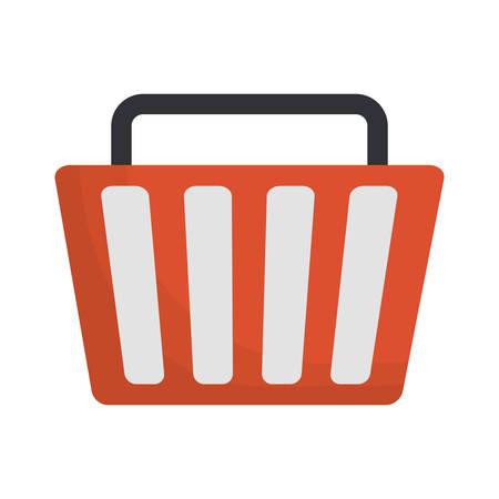 shopping basket icon image vector illustration design Illustration