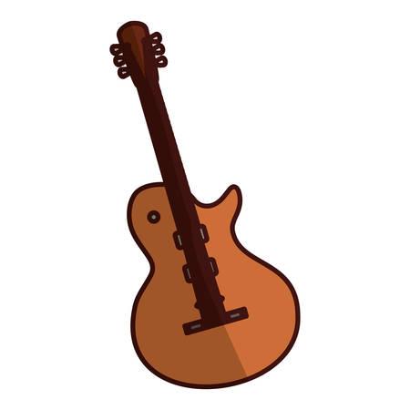 electric guitar icon image vector illustration design