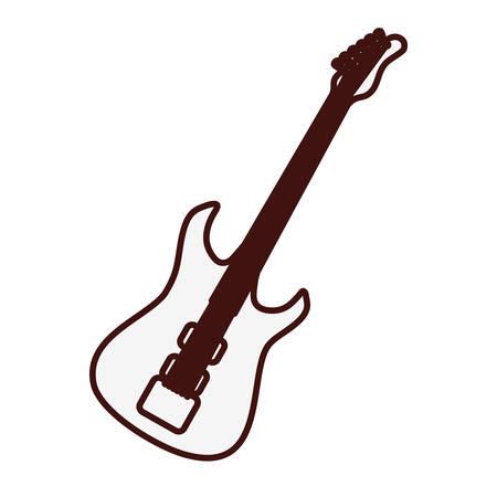 bass guitar icon image vector illustration design