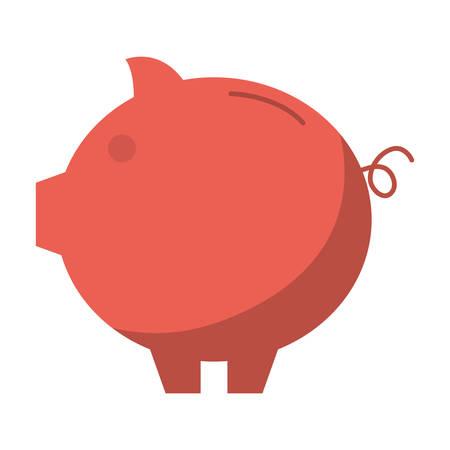 piggy bank icon image vector illustration design