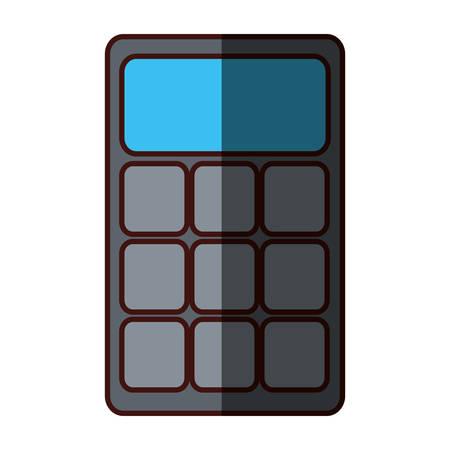 representation: calculator representation icon image vector illustration design