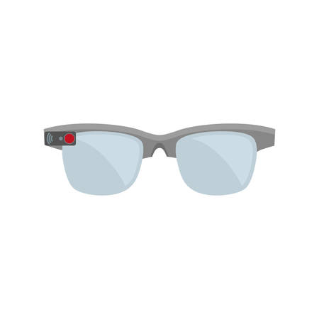 ar: ar smart glasses device virtual vector illustration eps 10 Illustration
