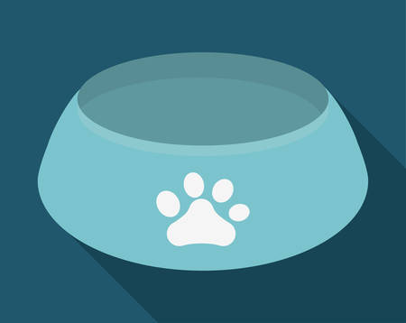 food plate: pet food plate  related icon image vector illustration design Illustration