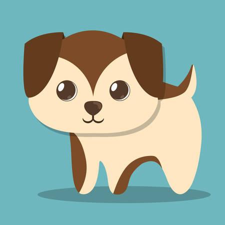 dog pet icon image vector illustration design Illustration