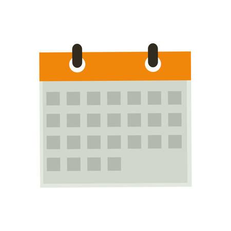 Isolated calendar date icon vector illustration graphic design