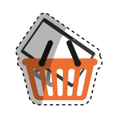 Modern tv technology icon vector illustration graphic design Illustration