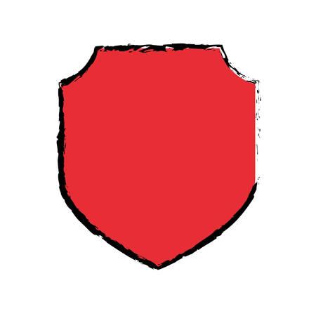trade secret: Badge shield emblem icon vector illustration graphic Illustration