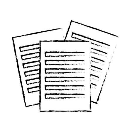 folio: document paper icon image vector illustration design Illustration