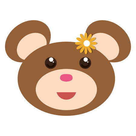 teddy bear icon image vector illustration design