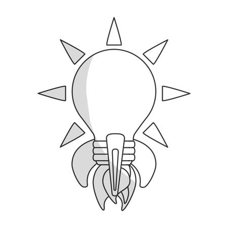 great idea related icon image vector illustration design