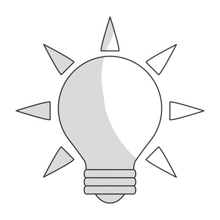 different thinking: great idea related icon image vector illustration design
