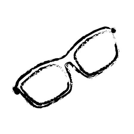 Isolated modern glasses icon vector illustration graphic design Illustration