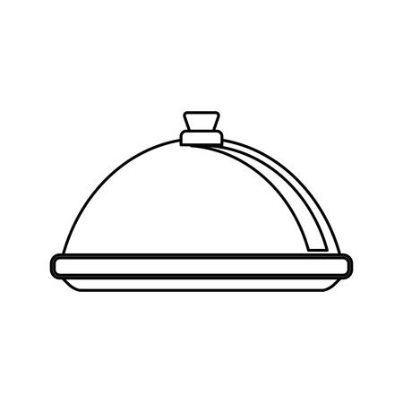 aliment: Restaurant dishware utensil icon vector illustration graphic design