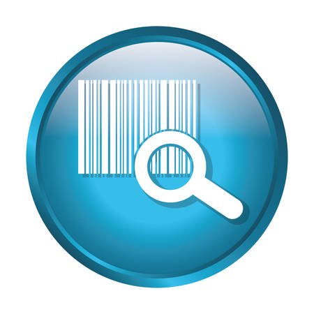 Bars code symbol icon vector illustration graphic design