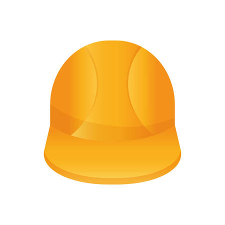 Worker construction helmet icon vector illustration graphic design Illustration