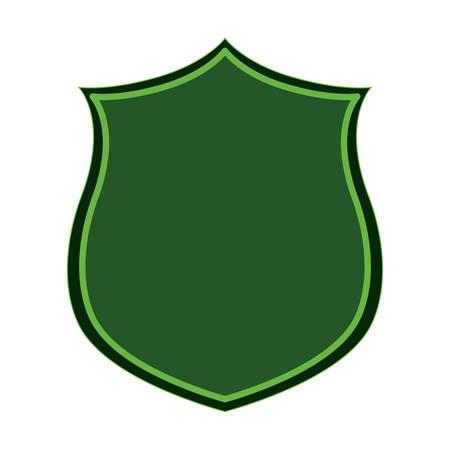 trade secret: Badge shield emblem icon vector illustration graphic design