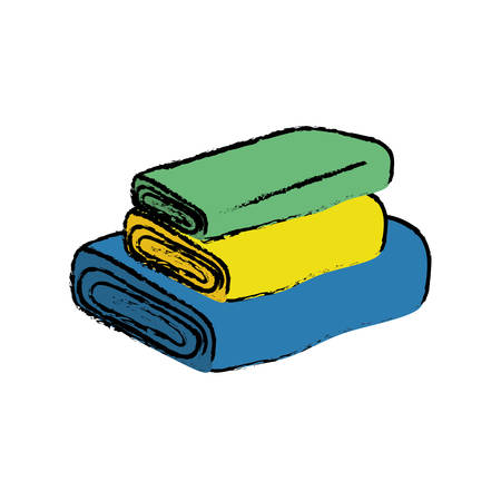 isolated fabrics cloth icon vector illustration graphic design Illustration