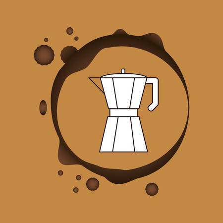 nutritional: Coffee delicious drink icon vector illustration graphic design Illustration