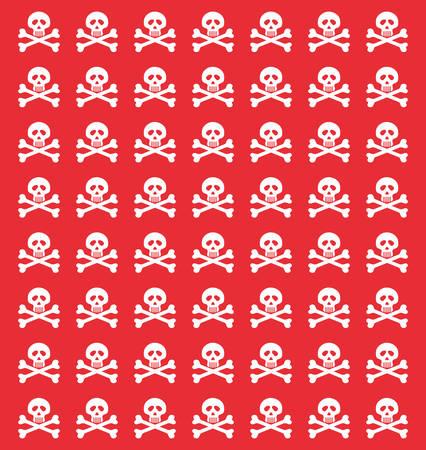 stop piracy: skull danger risk icon vector illustration graphic design