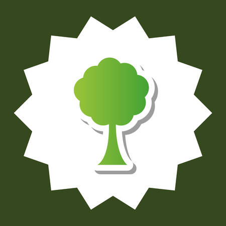 go green ecology icon vector illustration graphic design Illustration
