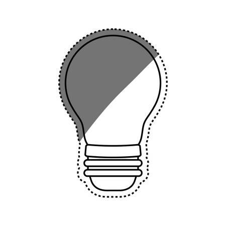 Bulb or big idea icon vector illustration graphic design