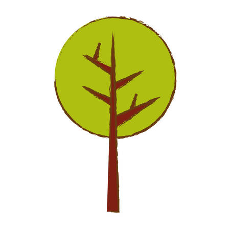 rural areas: abstract tree icon image vector illustration design Illustration
