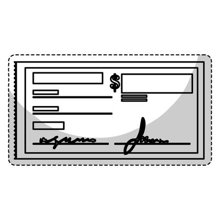 checkbook: checkbook icon over white background. mobile payments design. vector illustration
