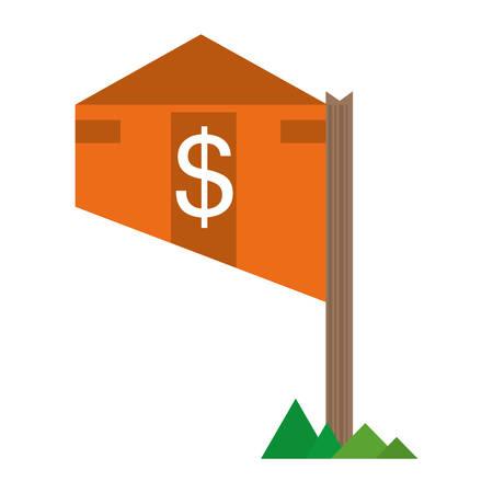 housing estate: real estate housing market value price vector illustration eps 10 Illustration