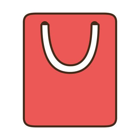 Mujer Feliz Con Un Bolso Y El Teléfono En Manos De Tienda