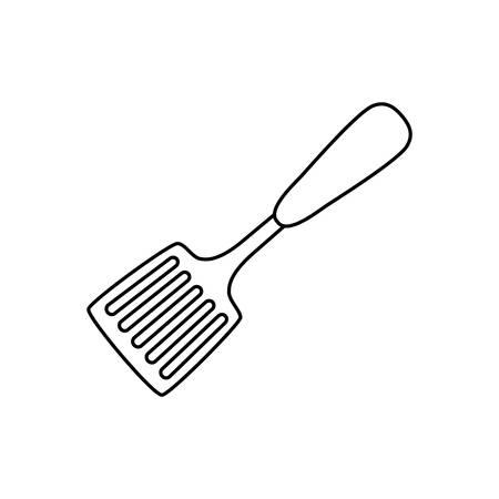 turner: turner kitchen utensil icon vector illustration graphic design