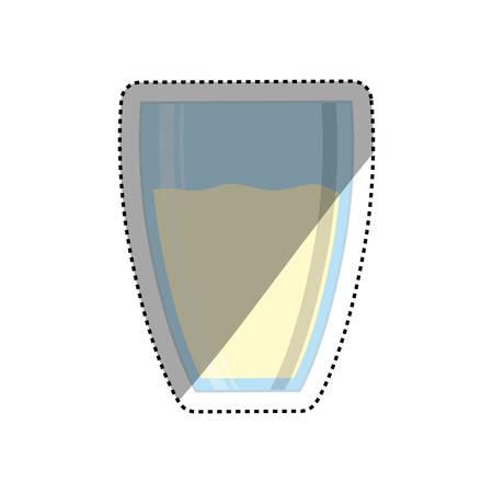 cold cuts: Fresh milk dairy icon vector illustration graphic design Illustration