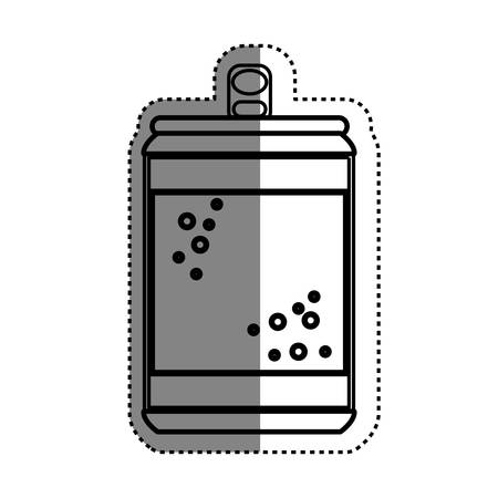 cold cuts: Delicious and fresh soda icon vector illustration graphic design Illustration