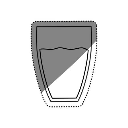 fiambres: Fresh water drink icon vector illustration graphic design