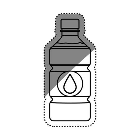cold cuts: Fresh water drink icon vector illustration graphic design
