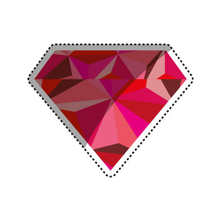 jewerly: Diamond luxury jewerly icon vector illustration graphic design