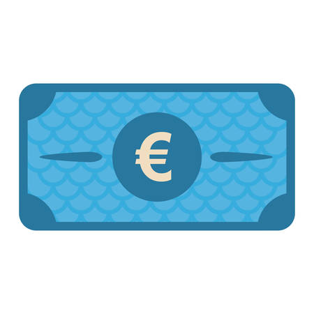 bill payment: cash bill payment economy icon image vector illustration design