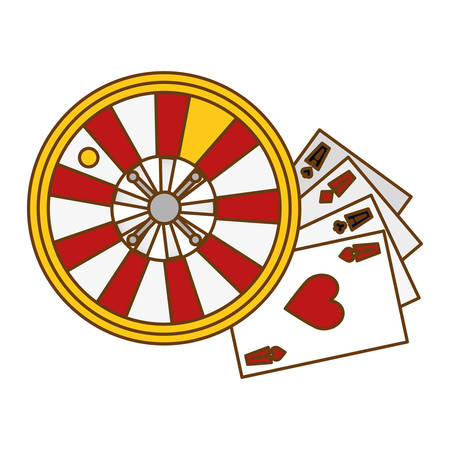 assorted games casino related icon image vector illustration design